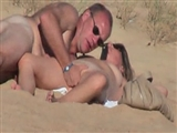Amateur Couple Voyeur Video Caught Fucking On A Public Beach