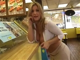 Hot Voyeur Tape Sexy Lady Flashing In Store