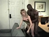 Quality Porn White Blonde With Black Man In Hotel