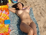 Amazing Woman Totally Nude At Beach Hot Photo