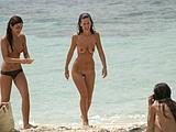 Hot Girls On Beach Of Romania