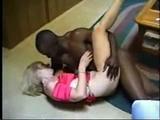 Kinky Amateur Wife Enjoying Some Black Cock for Dinner