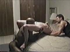 Hot Interracial Cuckold Porn Video Wife with First Black