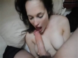 Girl Deepthroats Big Cock