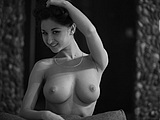Hot Russian Pussy with Awesome Natural Tits in Nude Pictures