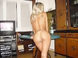 Estonian Girlfriend Shows Her Bare Naked Ass to Camera