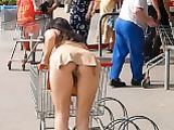 Big Butt Woman Showing Off In Public Photo