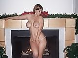 Naked Wife by the Chimney Reveals Her Sexy Body Hot Photos