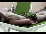 Hot Woman Teasing Man Filming