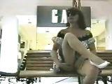 Voyeur Films Woman Flashing Her Pussy