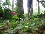 Italian Fucked By Voyeur Man In Forest