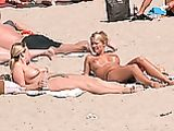 British Girls Topless Photo At Beach On Greek Island
