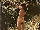 Nude Female Archer Photo
