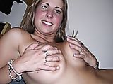 Playful Girlfrend with Big Tits in Homemade Nude Pictures