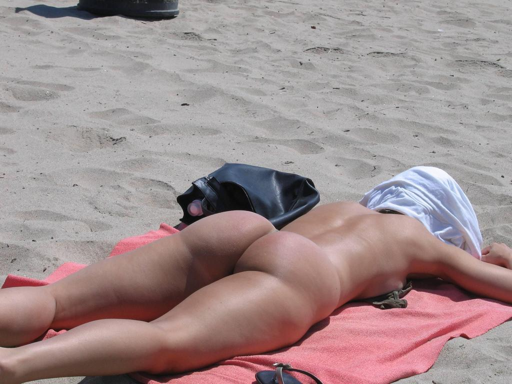 from Colt sexy nude ass on the beach
