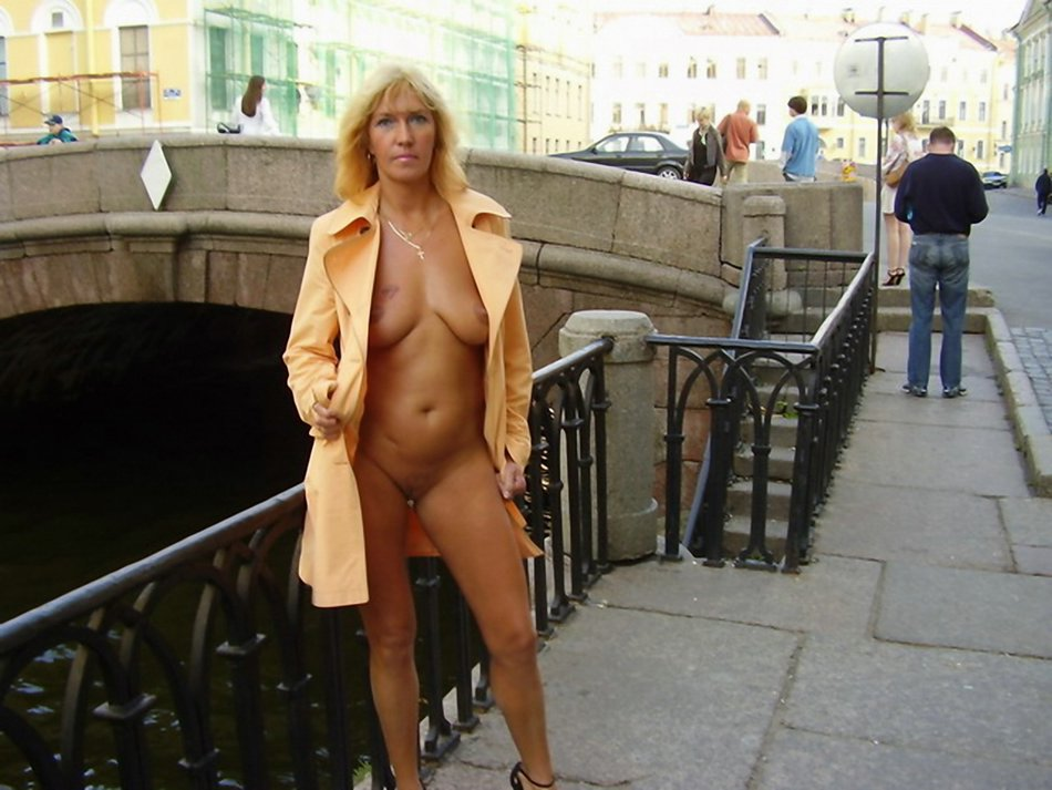 My Wife Flashing Public