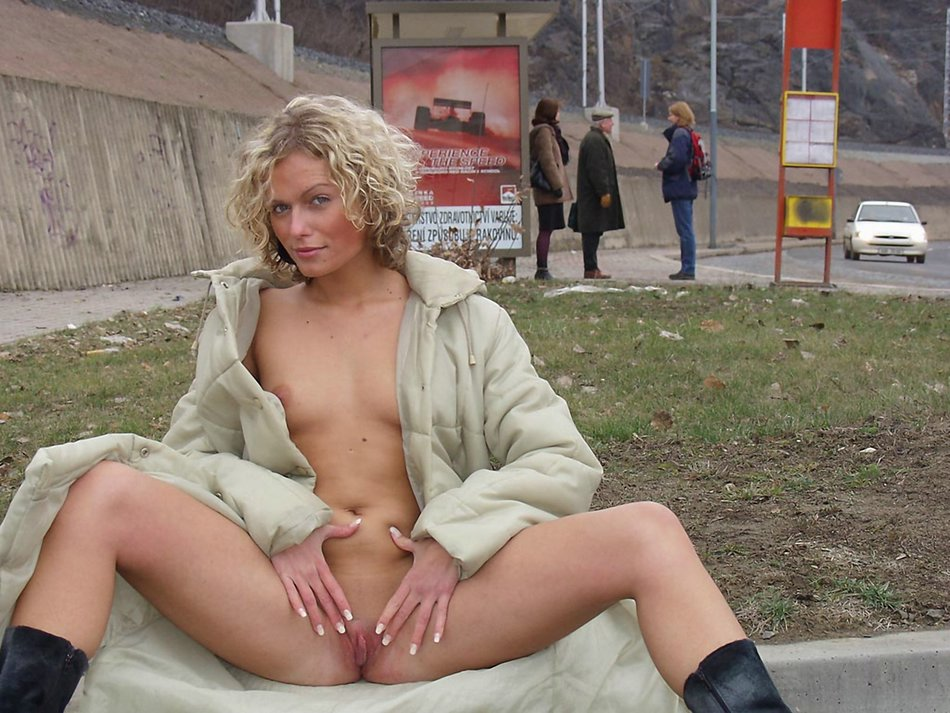 Naked Wife Public Photos