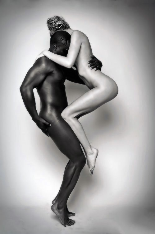 Nude Black Couple Photography