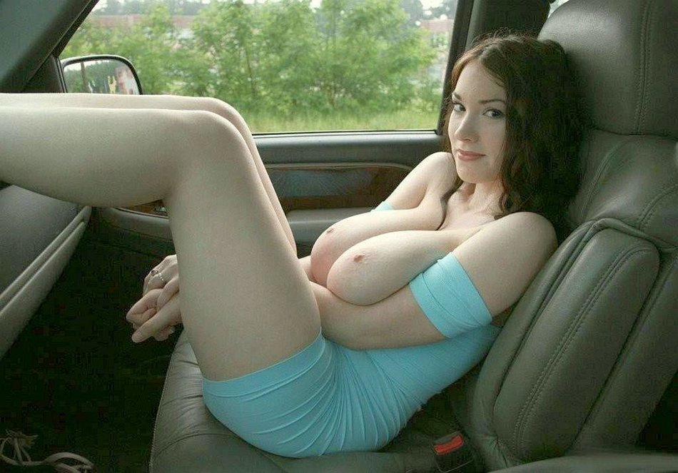 Wife With Big Tits Topless In Car S Amateur Se Pictures