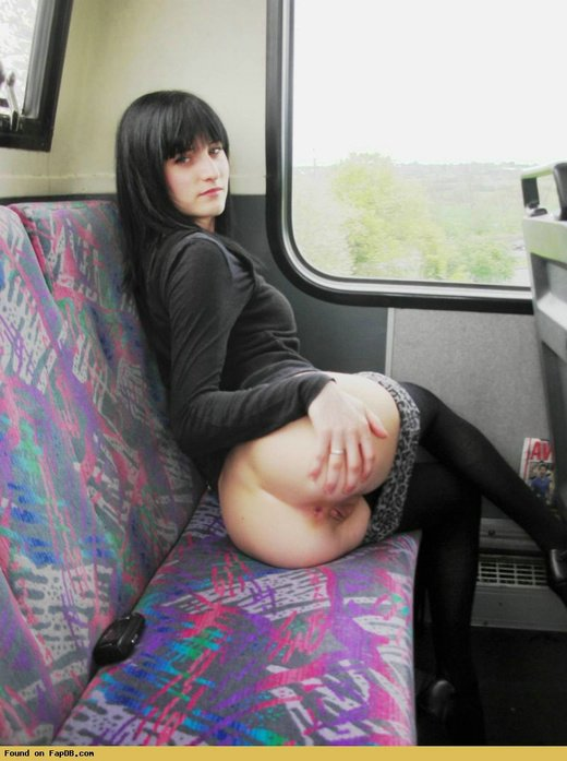 Sex On A Train Amateur Porn Photos
