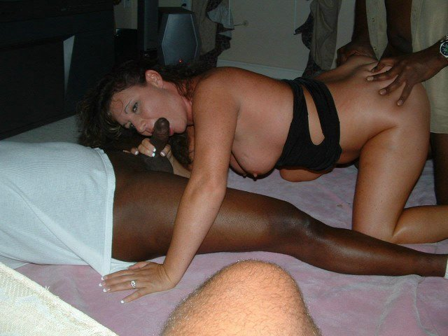Amature wife had to fuck a blk man