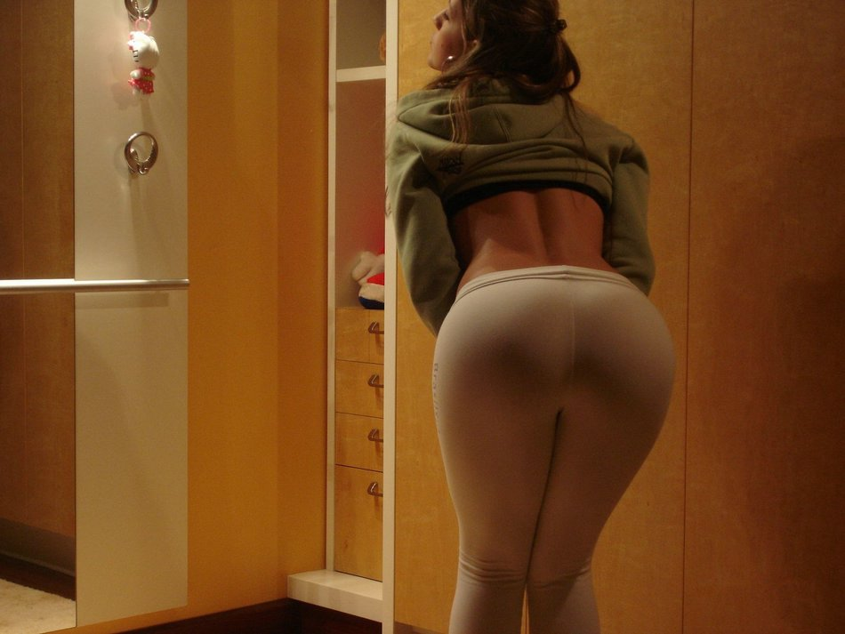 Girls Wearing Yoga Pants Photo