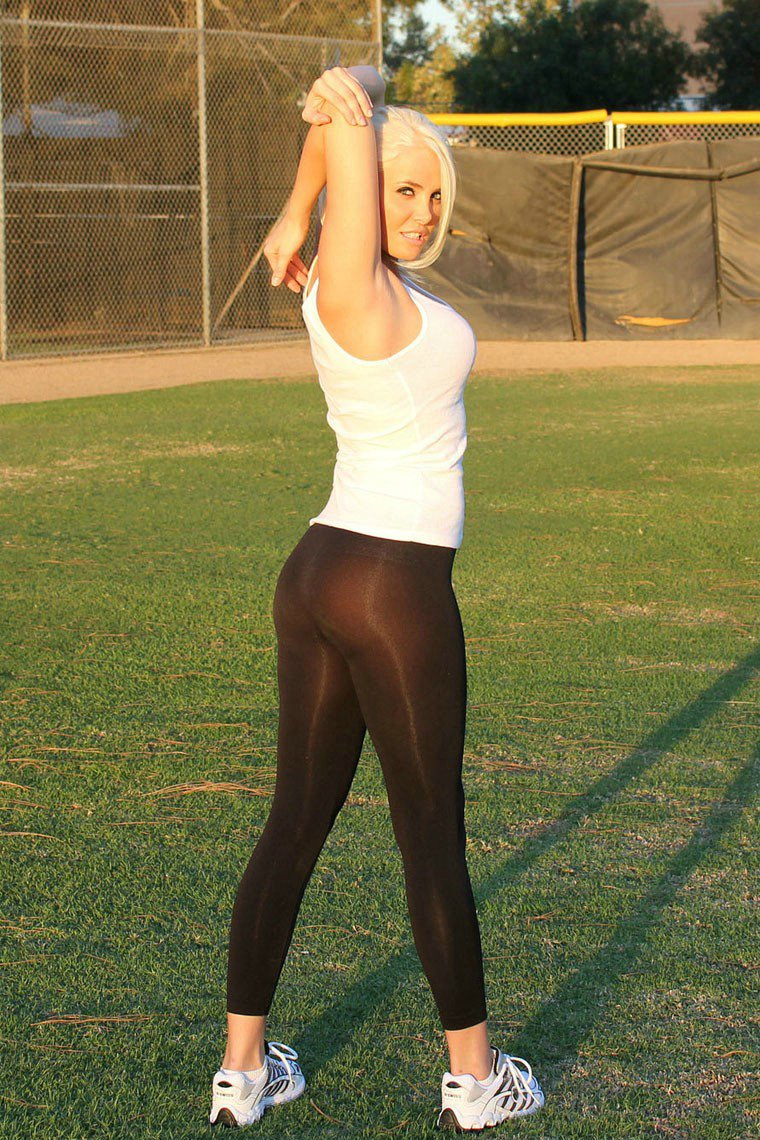 Milf Yoga Pants Photo