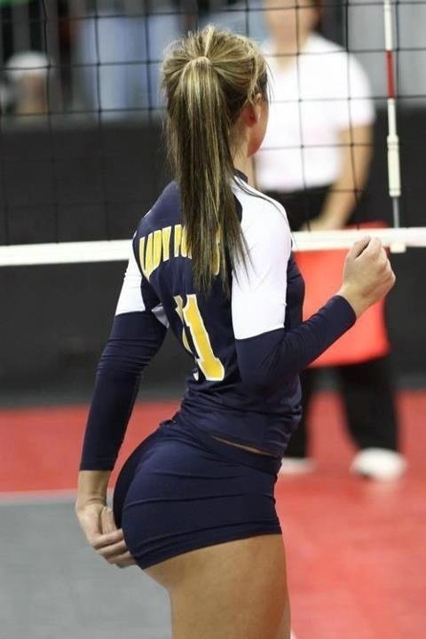 Photo Sexy Ass of Volleyball Girl
