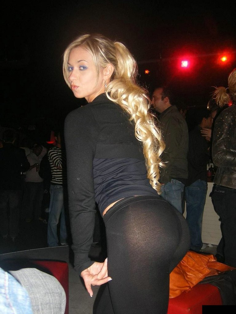 See Through Yoga Pants Photo