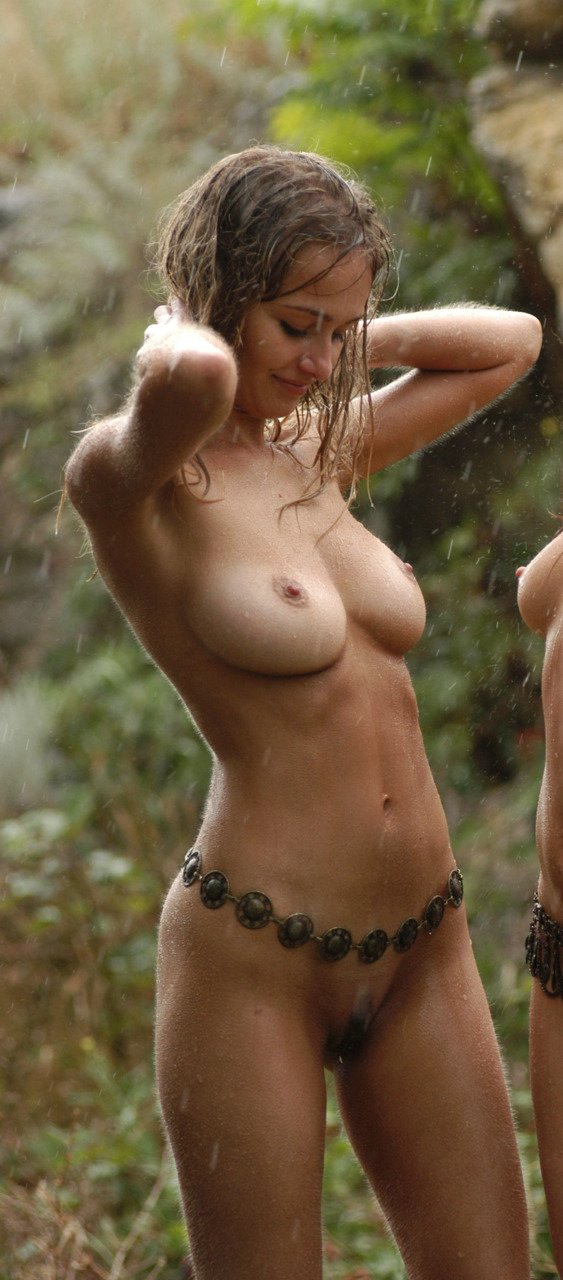 Hot Cutie Nude in Nature Photo