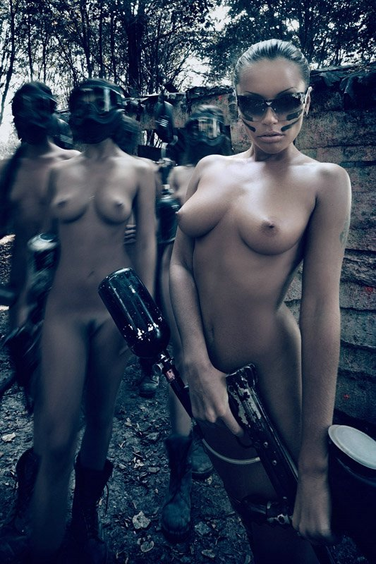 Nude Female Soldiers Photo