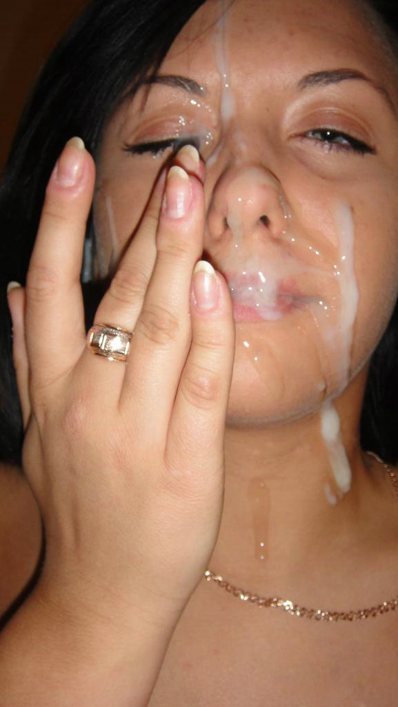 College girls cum facials
