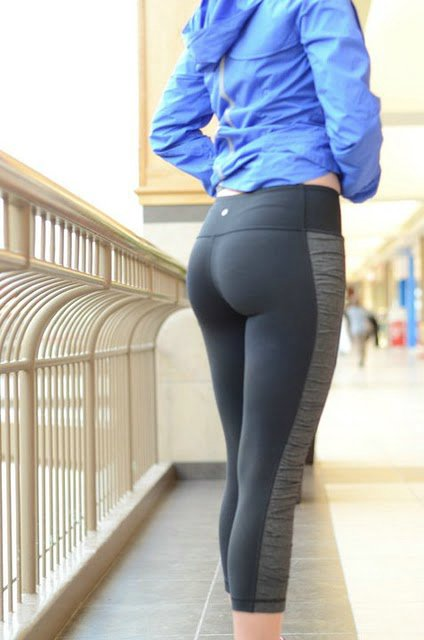 Tight pants milf