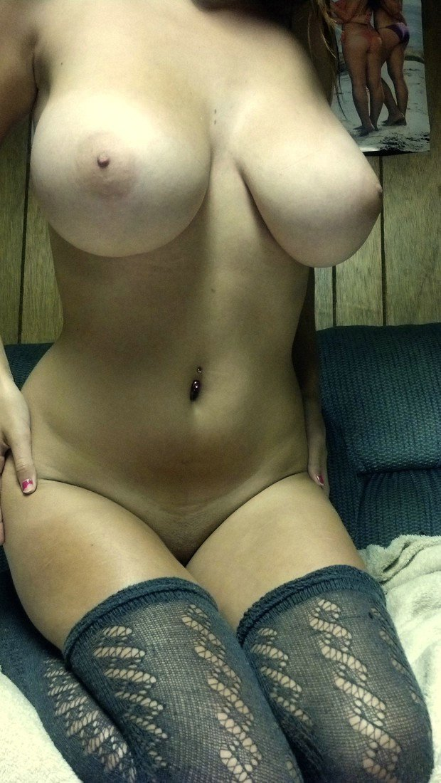 Photo of Amazing Big Natural Tits on Hot College Coed